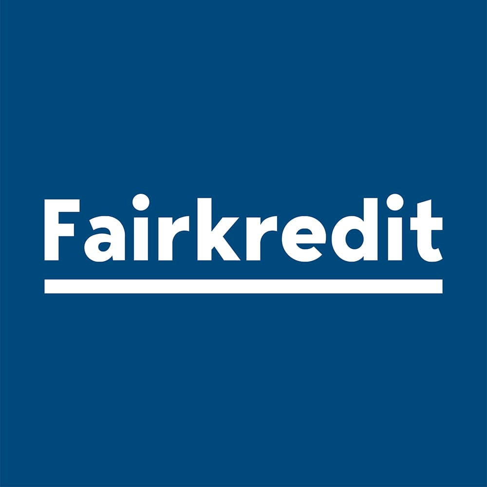 Fairkredits logo.