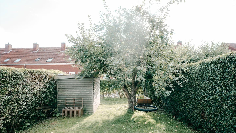 Lån penge til rækkehus med have